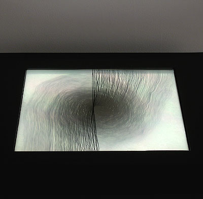 Lightbox Drawing (Double Spiral/CC)