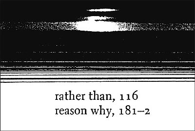 Untitled (Rather Than Reasons Why)