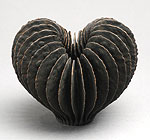 Ursula Morley Price, Brown Open Heart Form